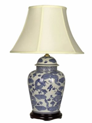 Chinese Porcelain Table Lamp 17