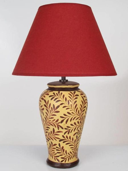 Pottery-Lamp-Small