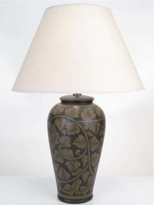 Large Pottery Lamp