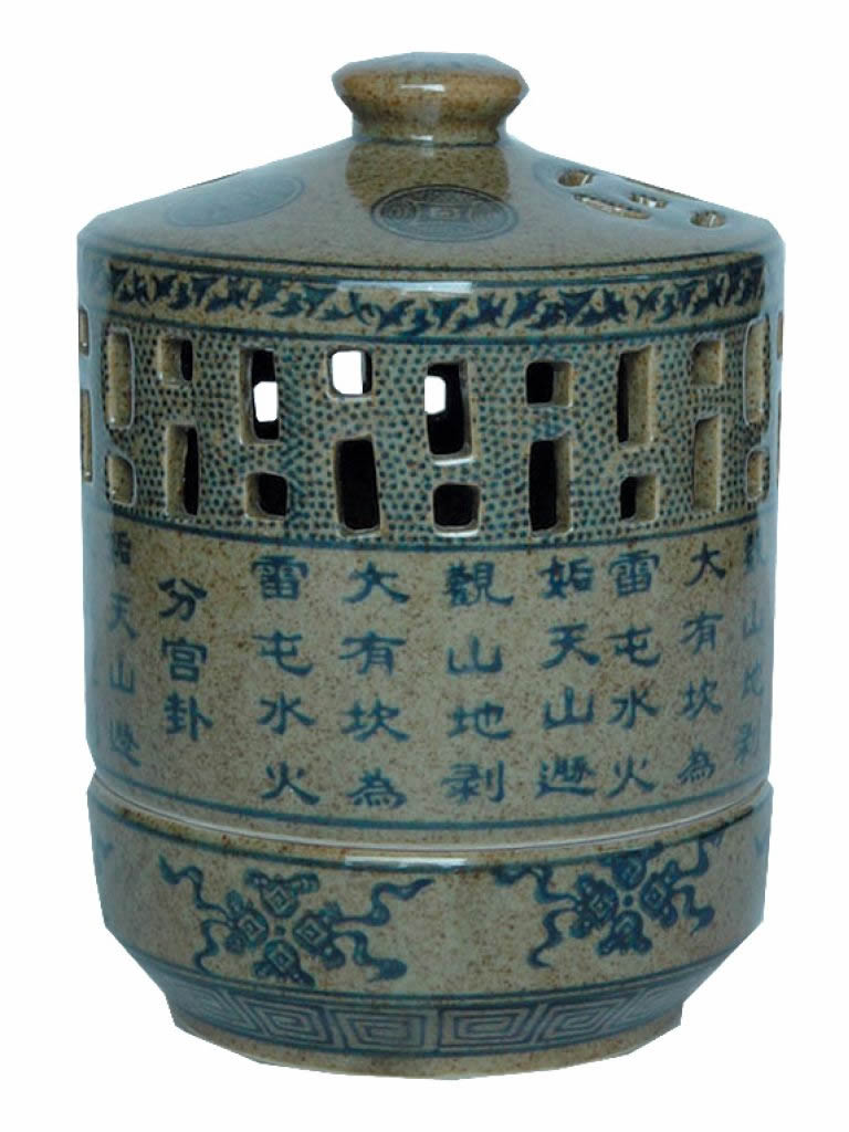 Chinese Porcelain Candle Holder