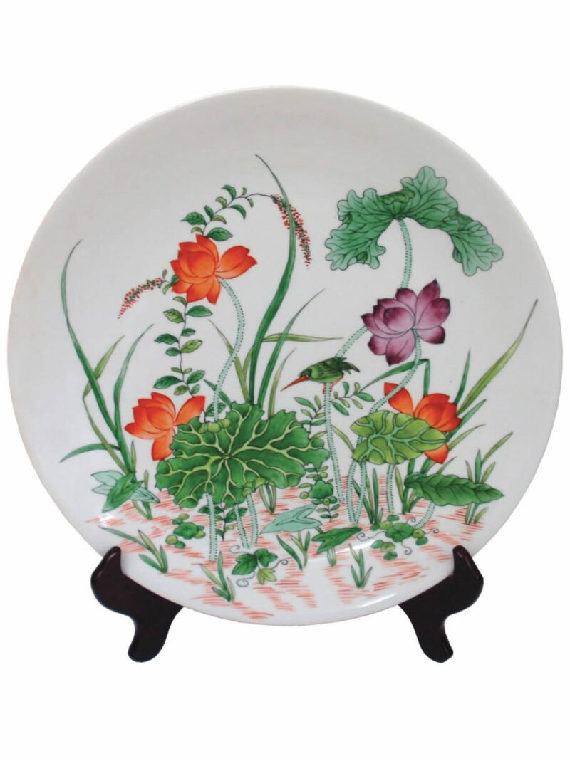 Chinese Porcelain Hand Painted Plate