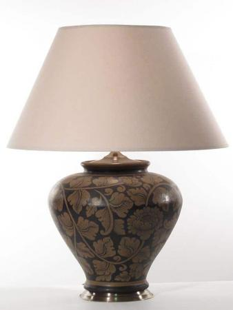 The Leaf Pottery Lamp